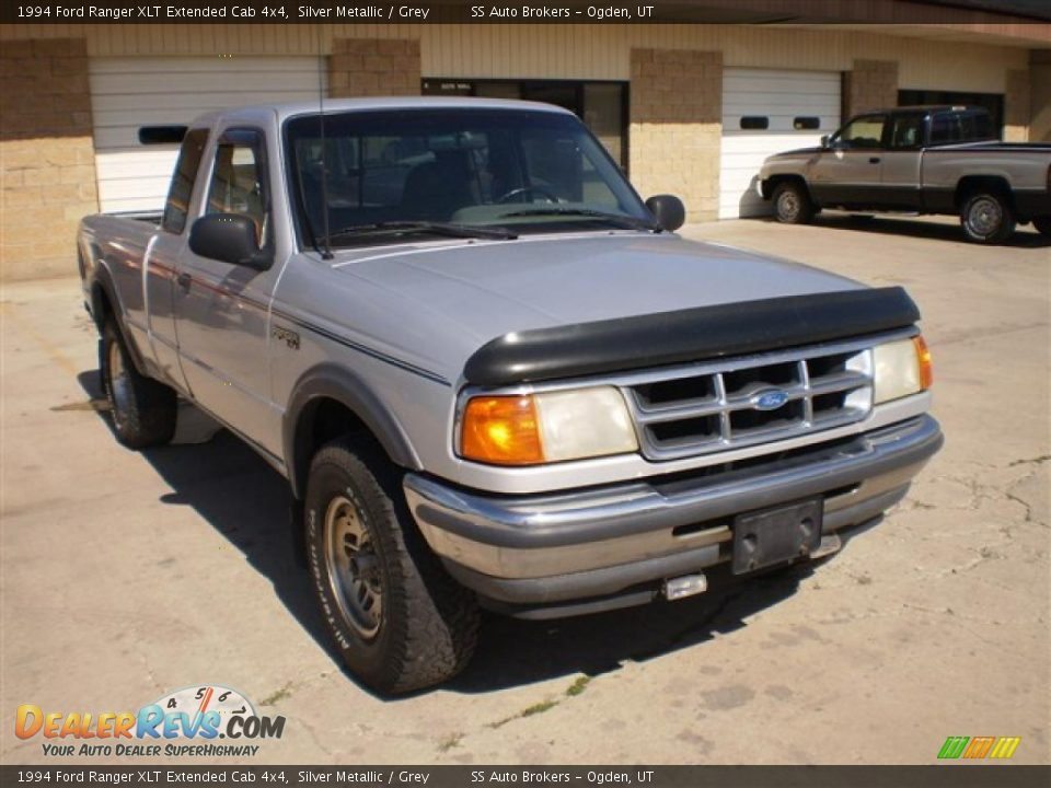 1994 ford ranger xlt extended cab 4x4 silver metallic grey photo 3 dealerrevs