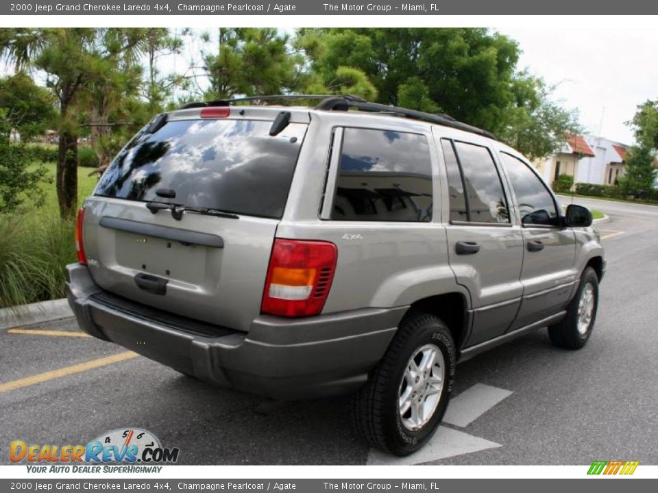 2000 jeep grand cherokee laredo 4x4 champagne pearlcoat agate photo. Cars Review. Best American Auto & Cars Review