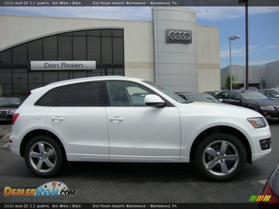 2010 Audi Q5 3 2 Quattro Ibis White Black Photo 6