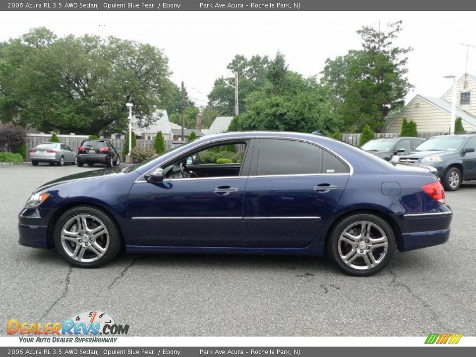 2006 Acura Rl 3 5 Awd Sedan Opulent Blue Pearl Ebony