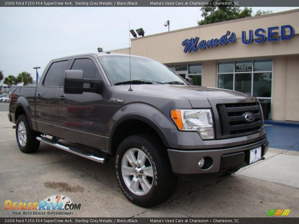 2009 ford f150 fx4 supercrew 4x4 sterling grey metallic. Black Bedroom Furniture Sets. Home Design Ideas