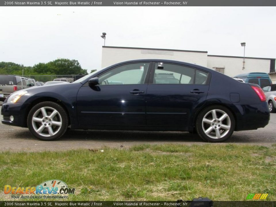2006 nissan maxima 3 5 se majestic blue metallic frost. Black Bedroom Furniture Sets. Home Design Ideas