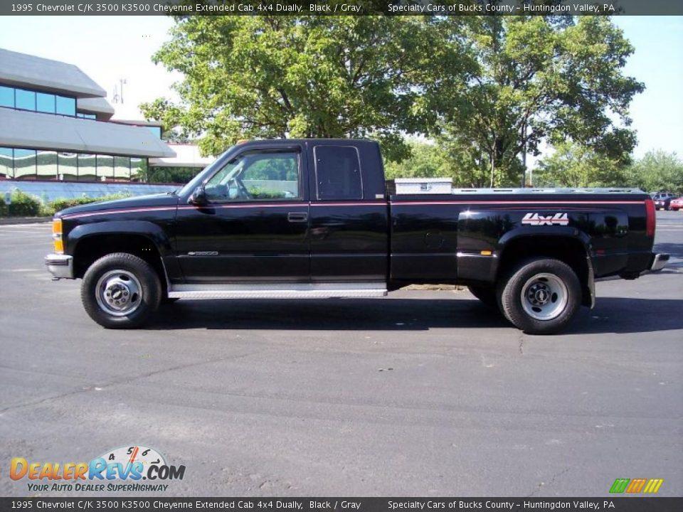 1995 chevy silverado 4x4 black