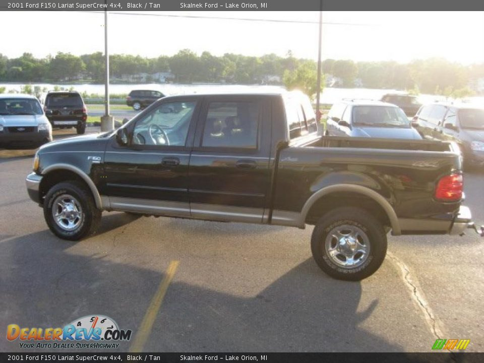2001 ford f150 lariat supercrew 4x4 black tan photo 6 dealerrevs. Cars Review. Best American Auto & Cars Review