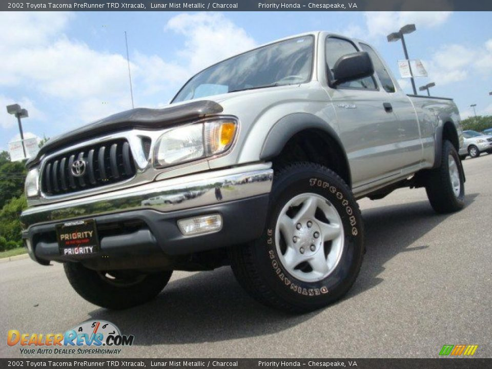 2002 toyota tacoma prerunner trd xtracab lunar mist metallic charcoal photo 1. Black Bedroom Furniture Sets. Home Design Ideas