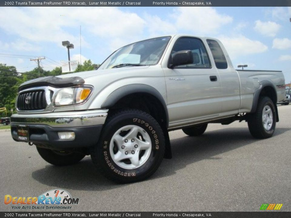 2002 toyota tacoma prerunner trd xtracab lunar mist metallic charcoal photo 2. Black Bedroom Furniture Sets. Home Design Ideas