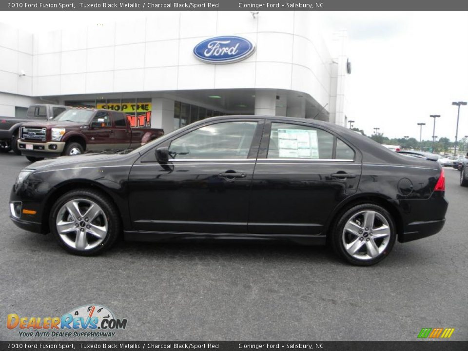 2010 Ford Fusion Sport Tuxedo Black Metallic Charcoal