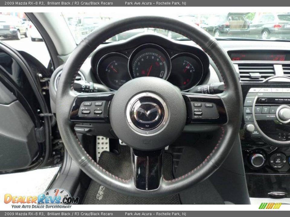 2009 Mazda Rx 8 R3 Brilliant Black R3 Gray Black Recaro Photo 8 Dealerrevs Com