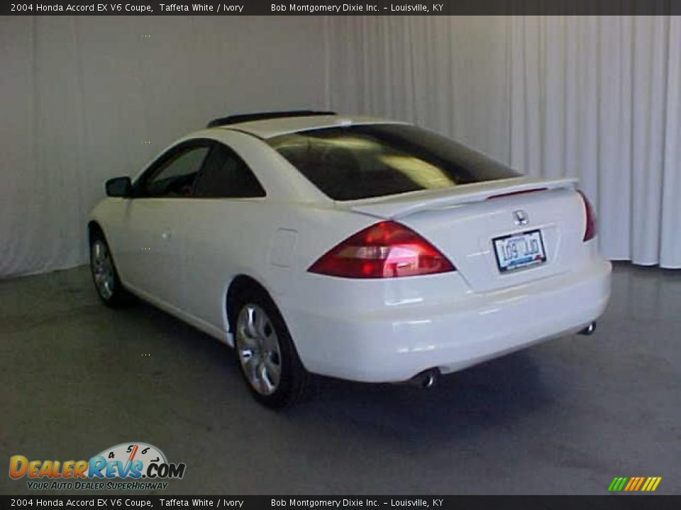 2004 honda accord ex v6 coupe taffeta white ivory photo 17. Black Bedroom Furniture Sets. Home Design Ideas