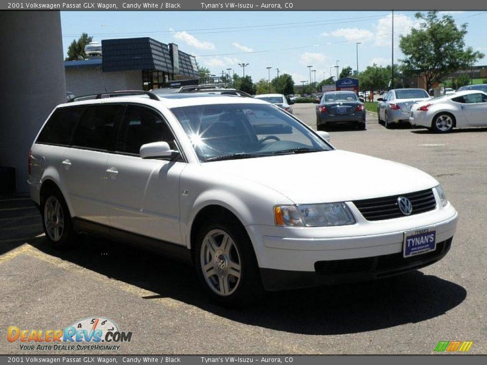 2001 Volkswagen Passat Glx Wagon Candy White Black Photo