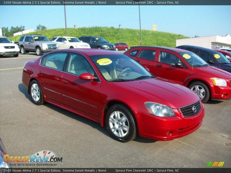 2006 nissan altima 2 5 s special edition sonoma sunset. Black Bedroom Furniture Sets. Home Design Ideas