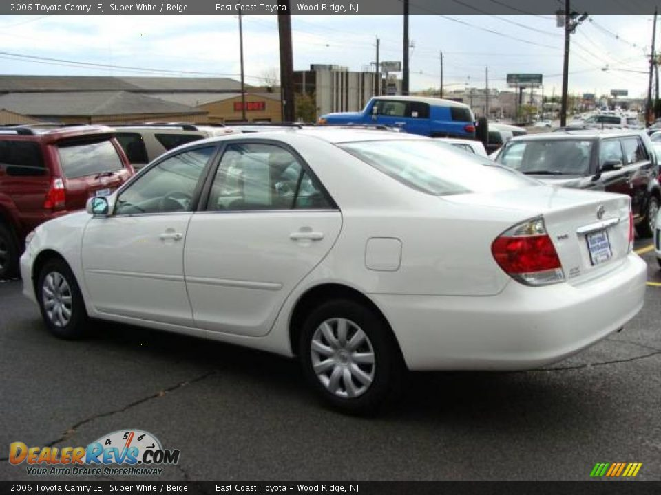 toyota camry 2006 white super white 2006 toyota camry xle. Black Bedroom Furniture Sets. Home Design Ideas