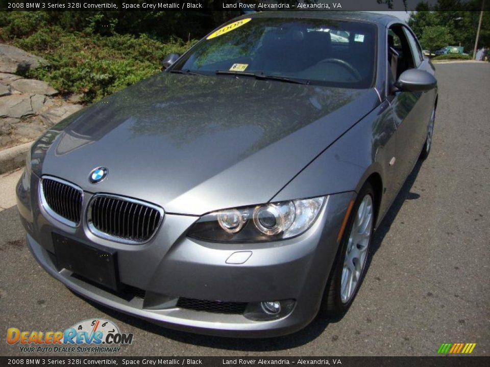 2008 Bmw 3 Series 328i Convertible Space Grey Metallic