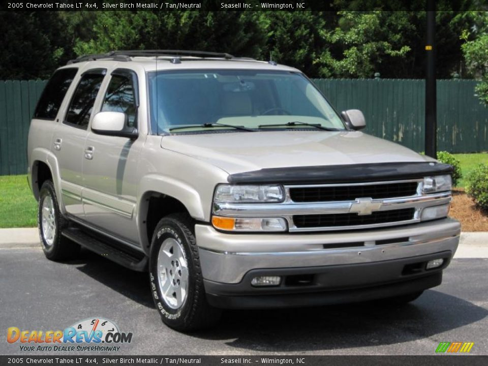 2005 Chevrolet Tahoe Lt 4x4 Silver Birch Metallic Tan