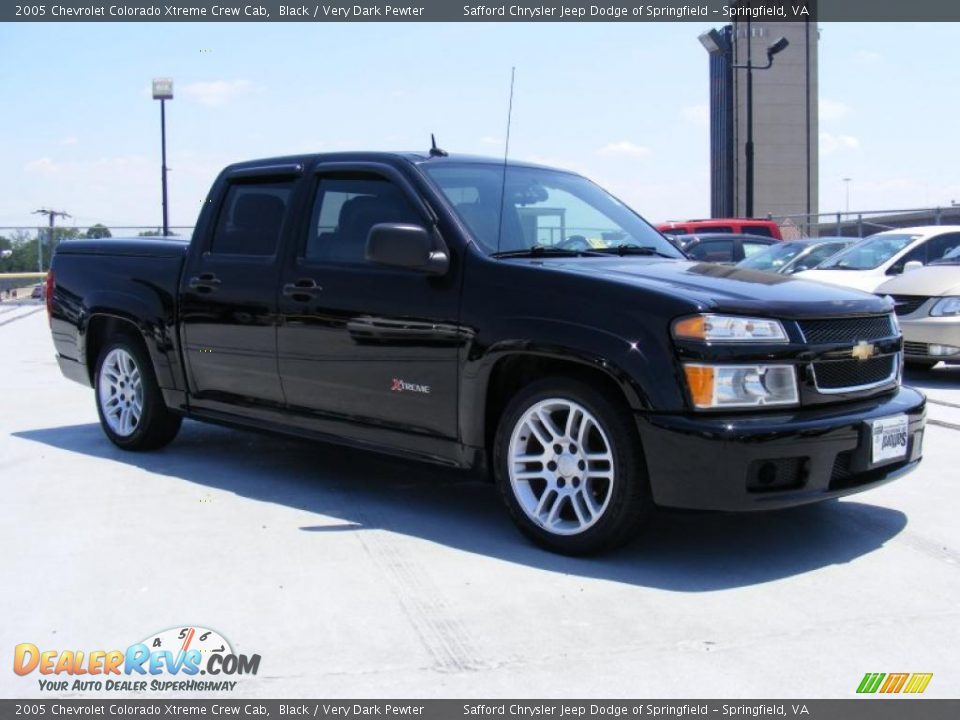 2005 chevrolet colorado xtreme crew cab black very dark pewter photo 3. Black Bedroom Furniture Sets. Home Design Ideas