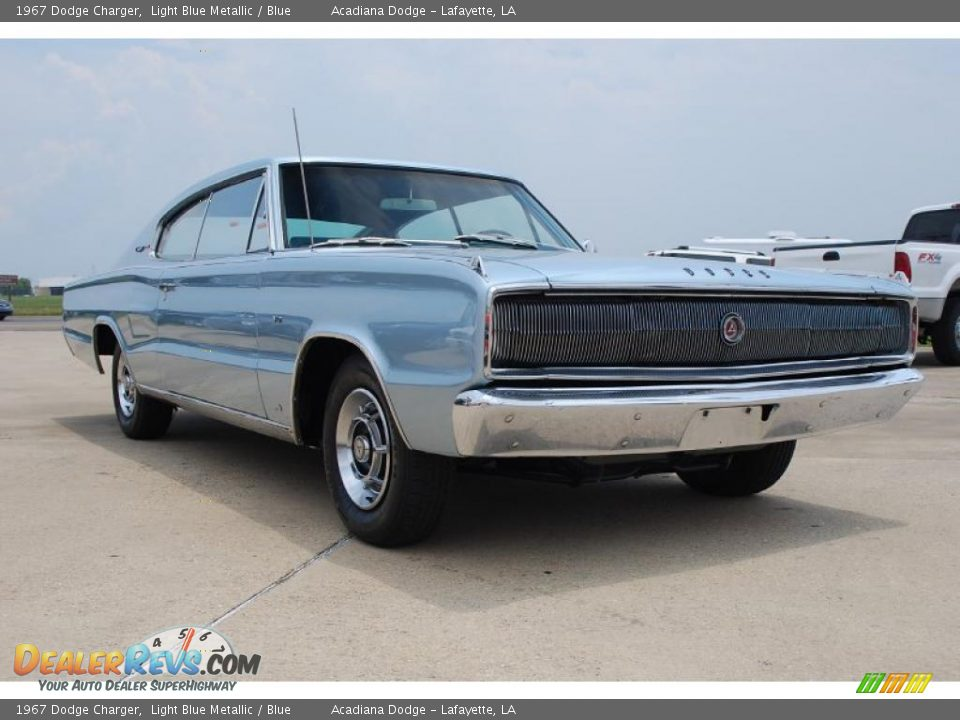 1967 Dodge Charger Light Blue Metallic Blue Photo 13