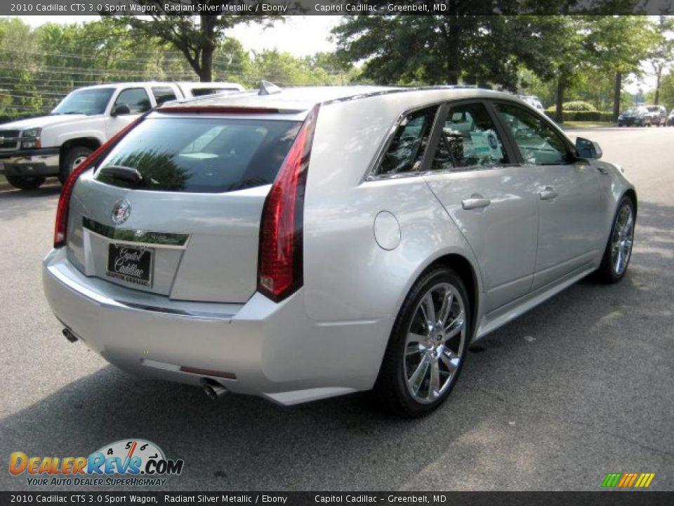 2010 Cadillac Cts 3 0 Sport Wagon Radiant Silver Metallic