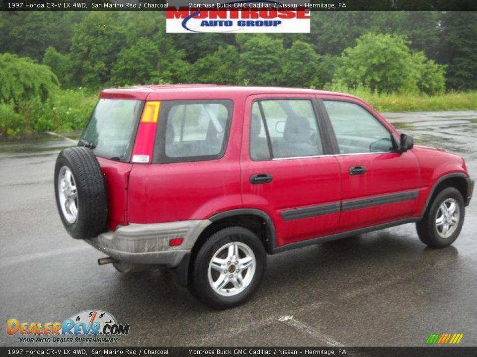 1997 Honda Cr V Car Interior Design