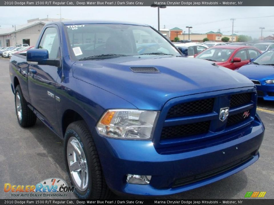 2010 dodge ram 1500 r t regular cab deep water blue pearl dark slate gray photo 11. Black Bedroom Furniture Sets. Home Design Ideas