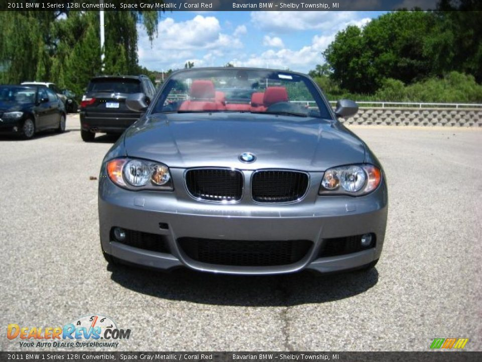 2011 Bmw 1 Series 128i Convertible Space Gray Metallic