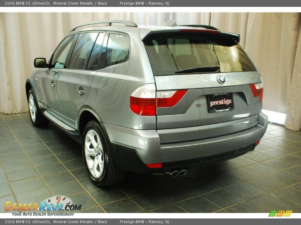 2009 bmw x3 xdrive30i mineral green metallic black photo. Black Bedroom Furniture Sets. Home Design Ideas