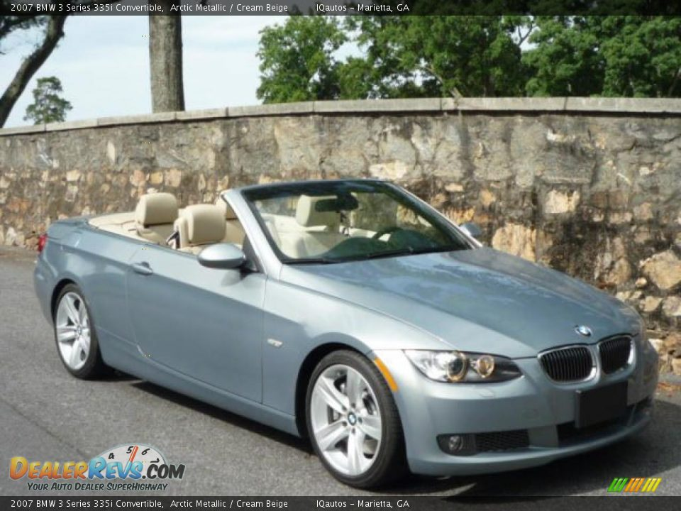 2007 bmw 3 series 335i convertible arctic metallic cream beige photo 1. Black Bedroom Furniture Sets. Home Design Ideas