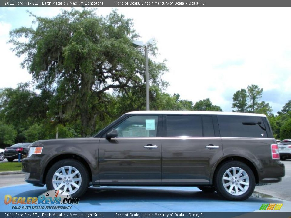 2011 ford flex sel earth metallic medium light stone. Black Bedroom Furniture Sets. Home Design Ideas