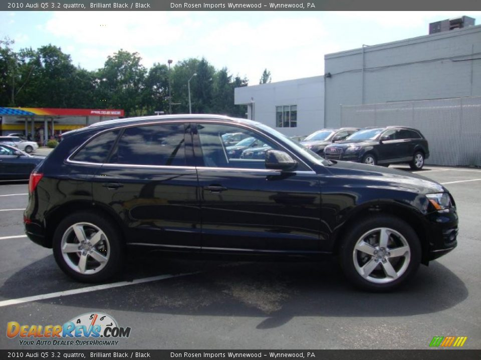 2010 Audi Q5 3 2 Quattro Brilliant Black Black Photo 7