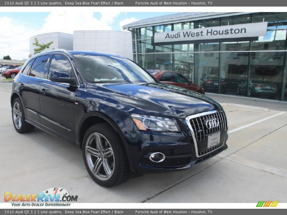 2010 Audi Q5 3 2 S Line Quattro Deep Sea Blue Pearl Effect