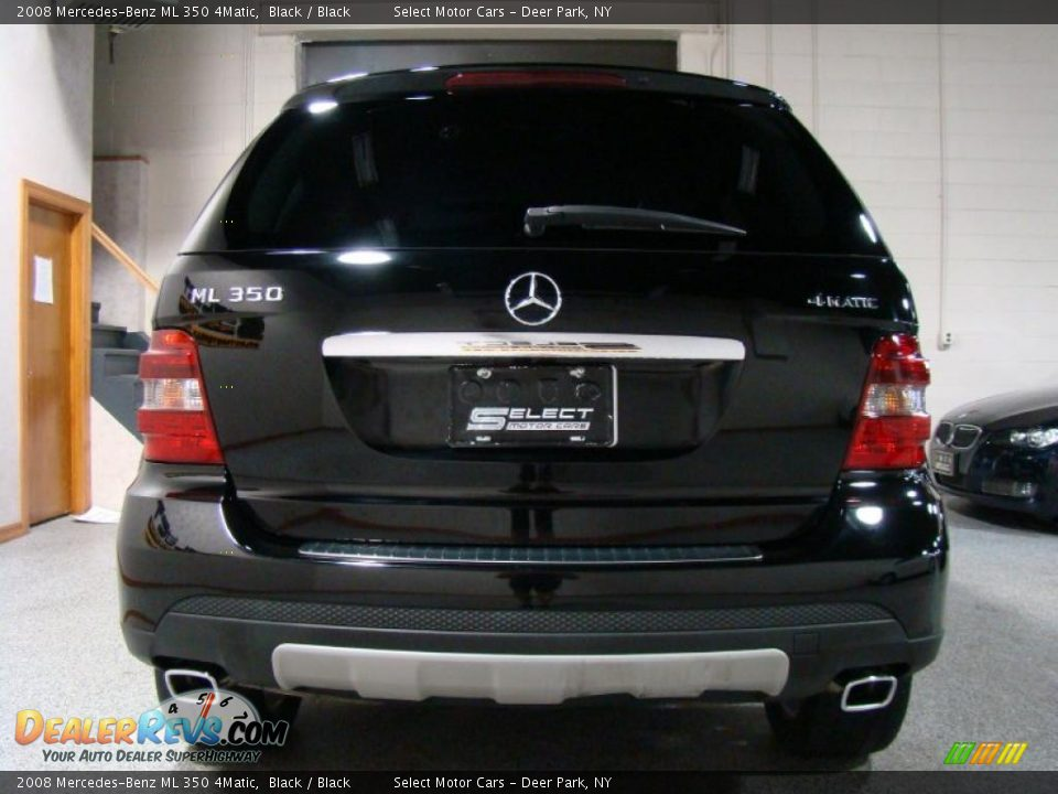 2008 mercedes benz ml 350 4matic black black photo 5 for Mercedes benz ml 350 2008