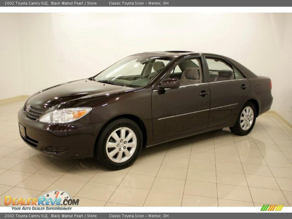 2002 Toyota Camry Xle Black Walnut Pearl Stone Photo 3