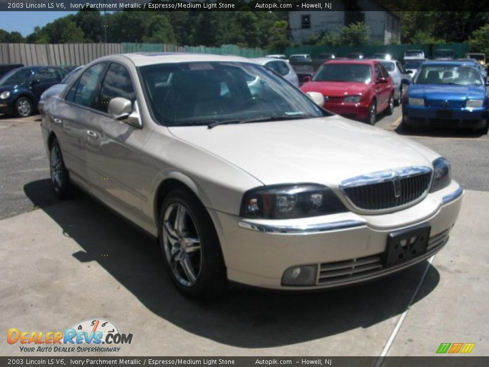 2003 lincoln ls v6 ivory parchment metallic espresso for State motors lincoln dealer manchester nh