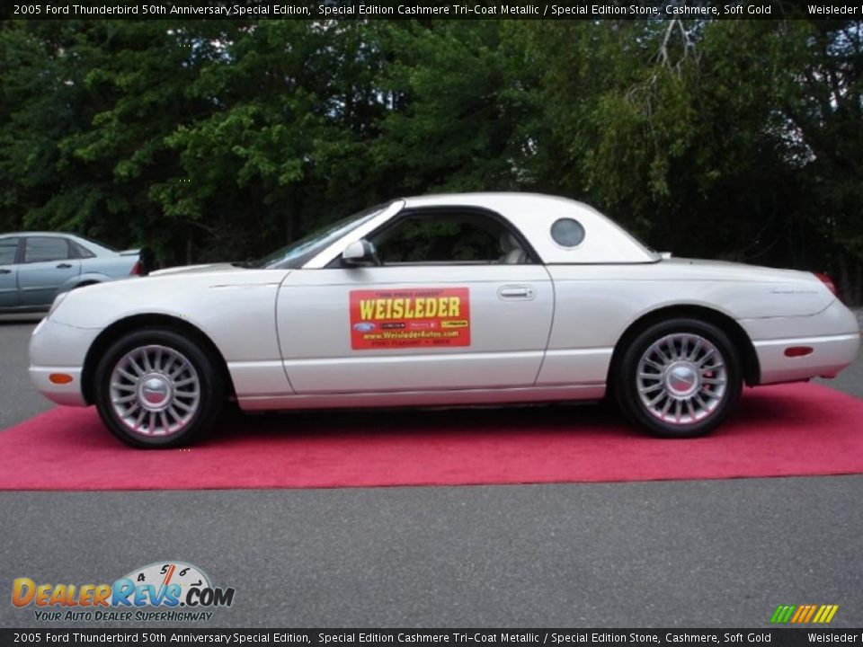 2005 Ford Thunderbird 50th Anniversary Special Edition Special Edition