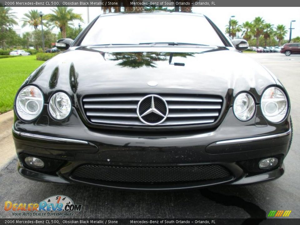 2006 mercedes benz cl 500 obsidian black metallic stone for 2006 mercedes benz cl500