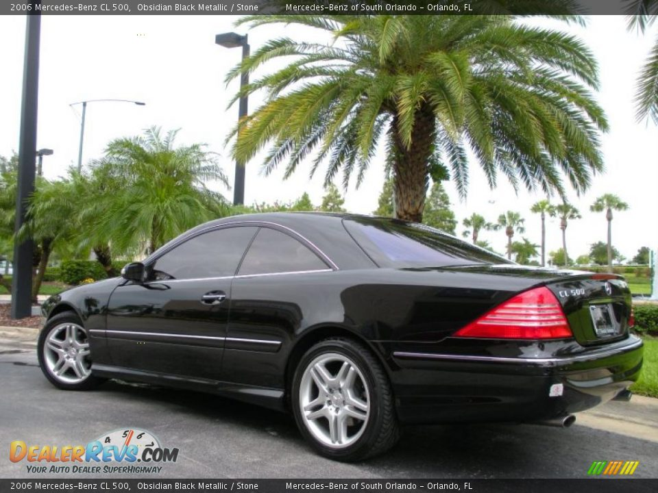 2006 mercedes benz cl 500 obsidian black metallic stone. Black Bedroom Furniture Sets. Home Design Ideas
