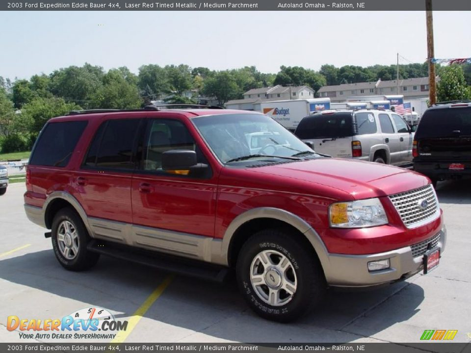 2003 ford expedition eddie bauer 4x4 laser red tinted metallic. Cars Review. Best American Auto & Cars Review