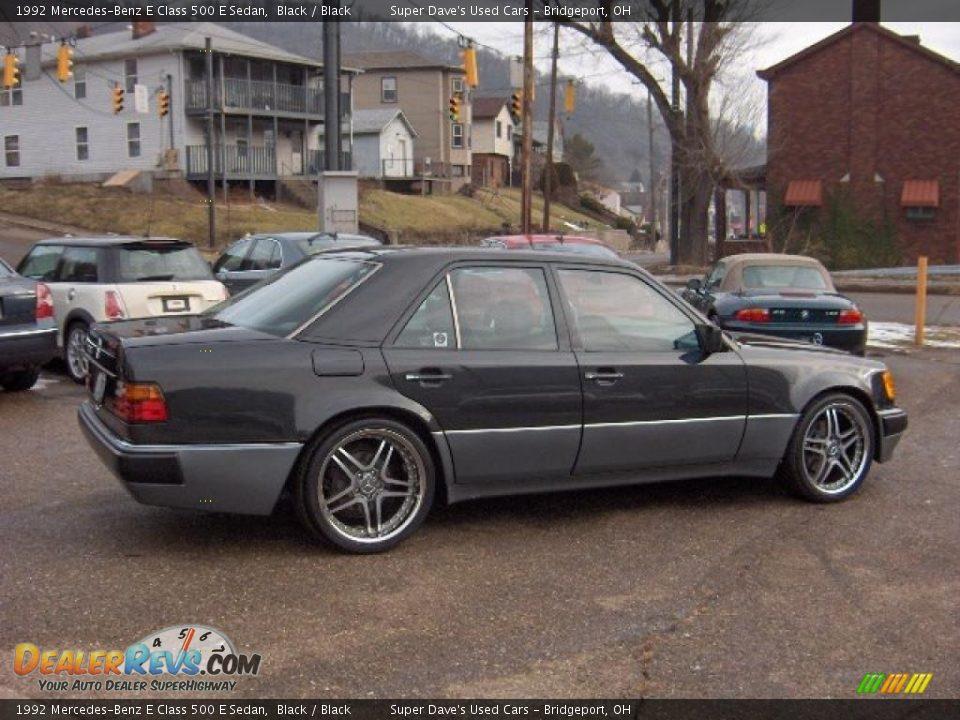 1992 mercedes benz e class 500 e sedan black black photo for Mercedes benz e class 500