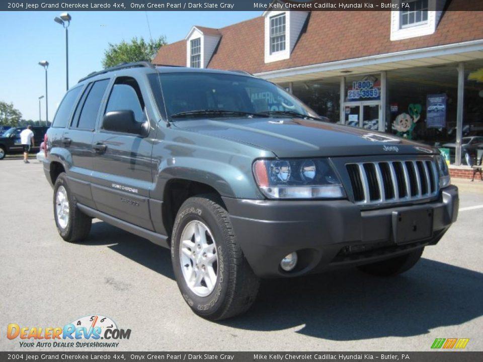 2004 Jeep Grand Cherokee Laredo 4x4 Onyx Green Pearl