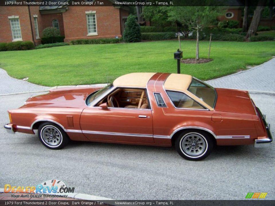 1979 ford thunderbird 2 door coupe dark orange tan photo 11 dealerrevs