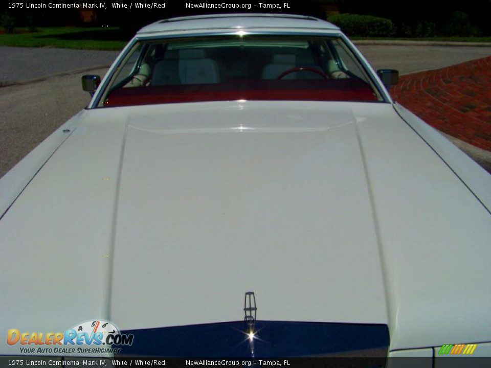 1975 lincoln continental mark iv white white red photo for State motors lincoln dealer manchester nh