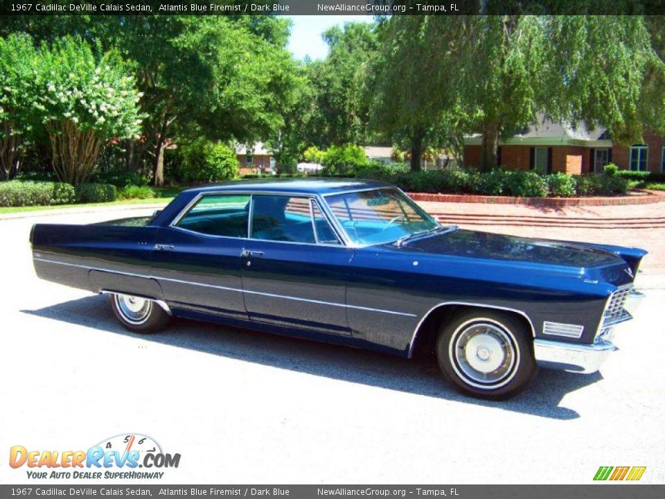 1967 Cadillac Deville Calais Sedan Atlantis Blue Firemist