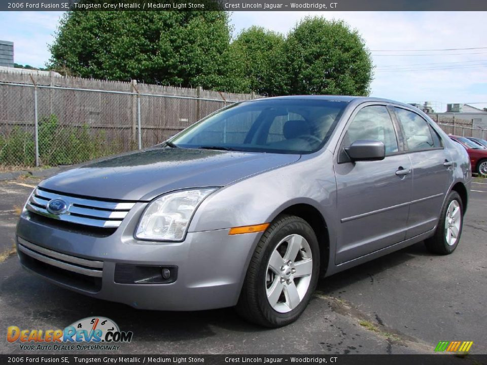 2006 Ford Fusion SE Tungsten Grey Metallic / Medium Light ...