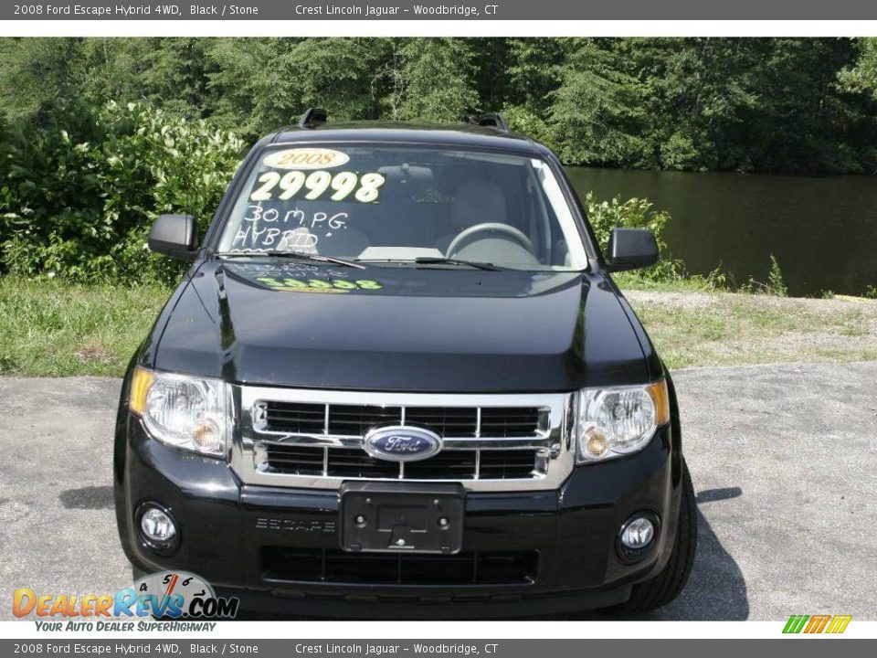 2008 ford escape hybrid 4wd black stone photo 2. Black Bedroom Furniture Sets. Home Design Ideas