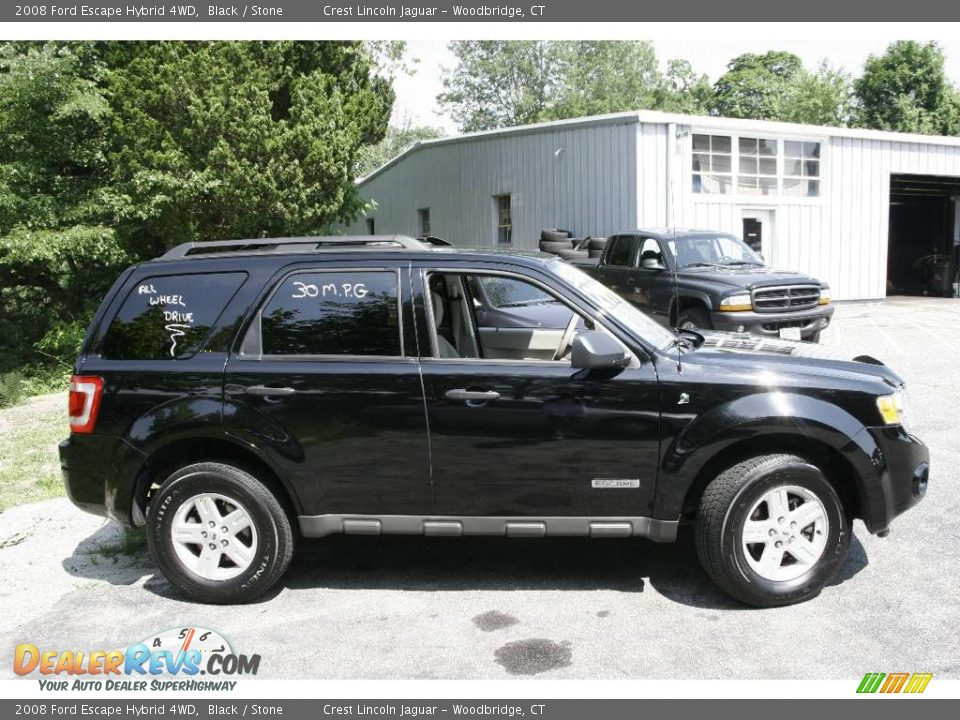2008 ford escape hybrid 4wd black stone photo 4. Black Bedroom Furniture Sets. Home Design Ideas