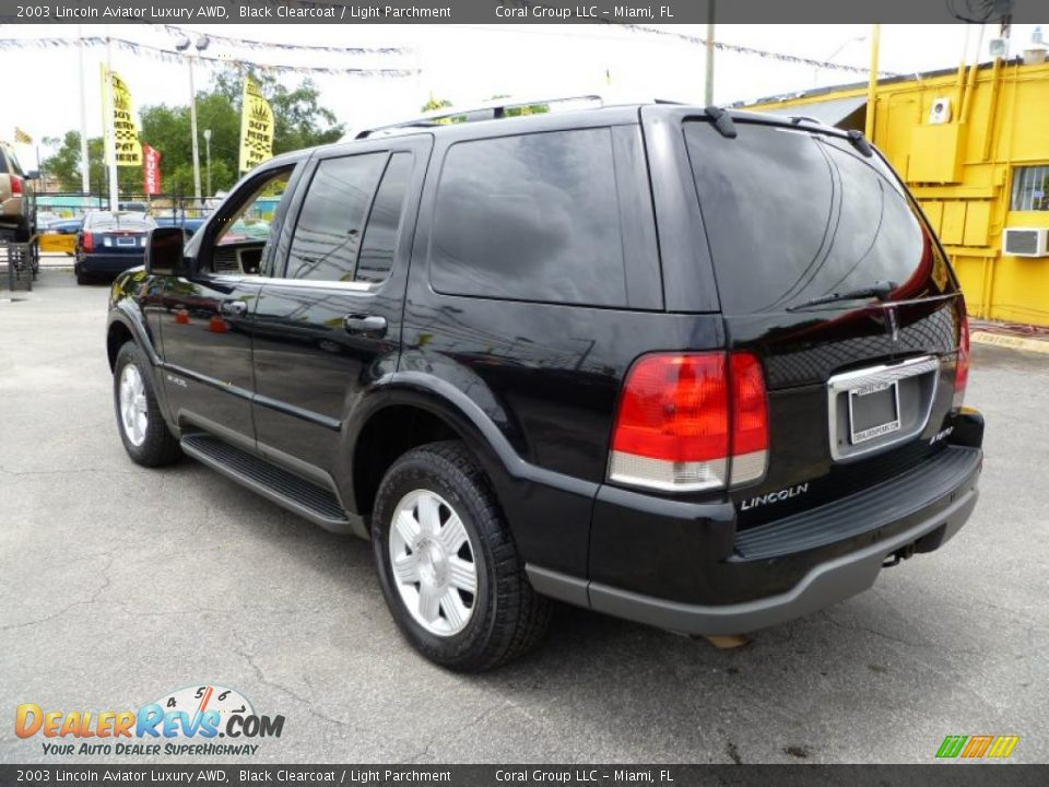 2003 lincoln aviator luxury awd black clearcoat light for State motors lincoln dealer manchester nh