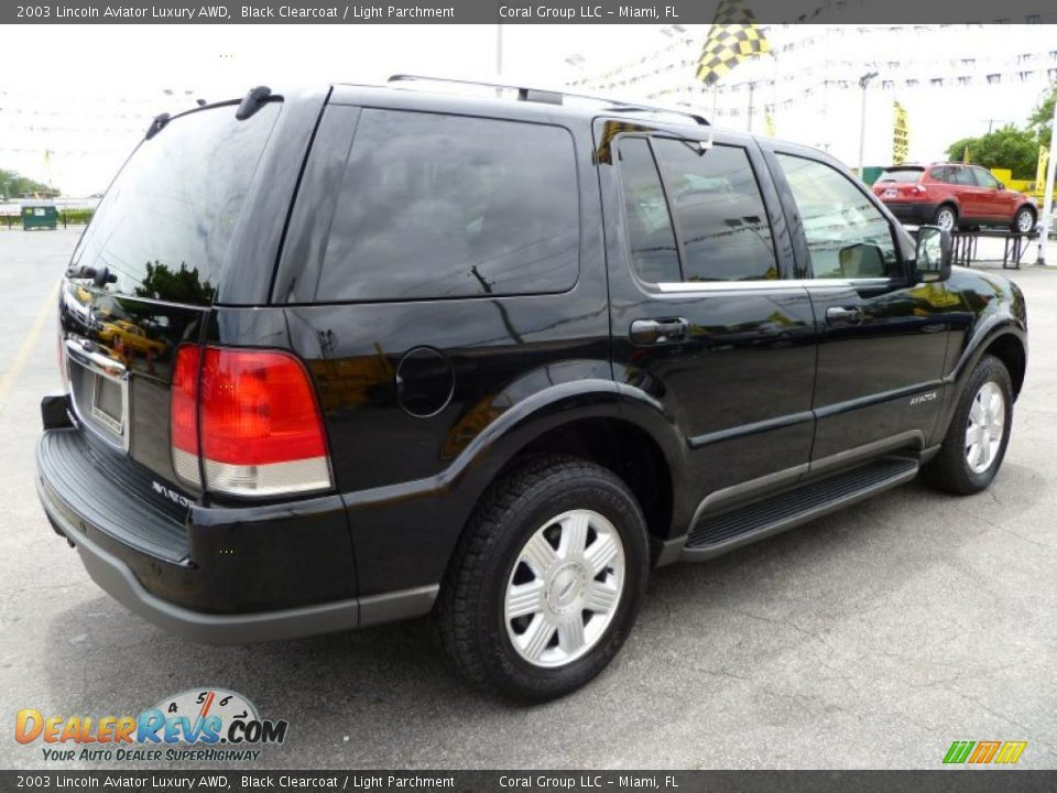 2003 lincoln aviator luxury awd black clearcoat light. Black Bedroom Furniture Sets. Home Design Ideas