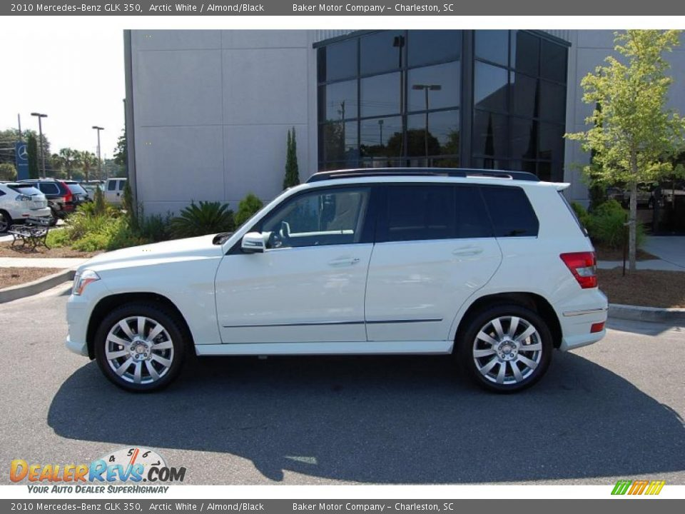 2010 mercedes benz glk 350 arctic white almond black for 2010 mercedes benz glk