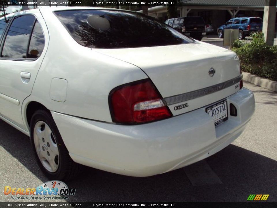 Www Nissan Altima Com 2000 Nissan Altima GXE Cloud White / Blond Photo #7 ...