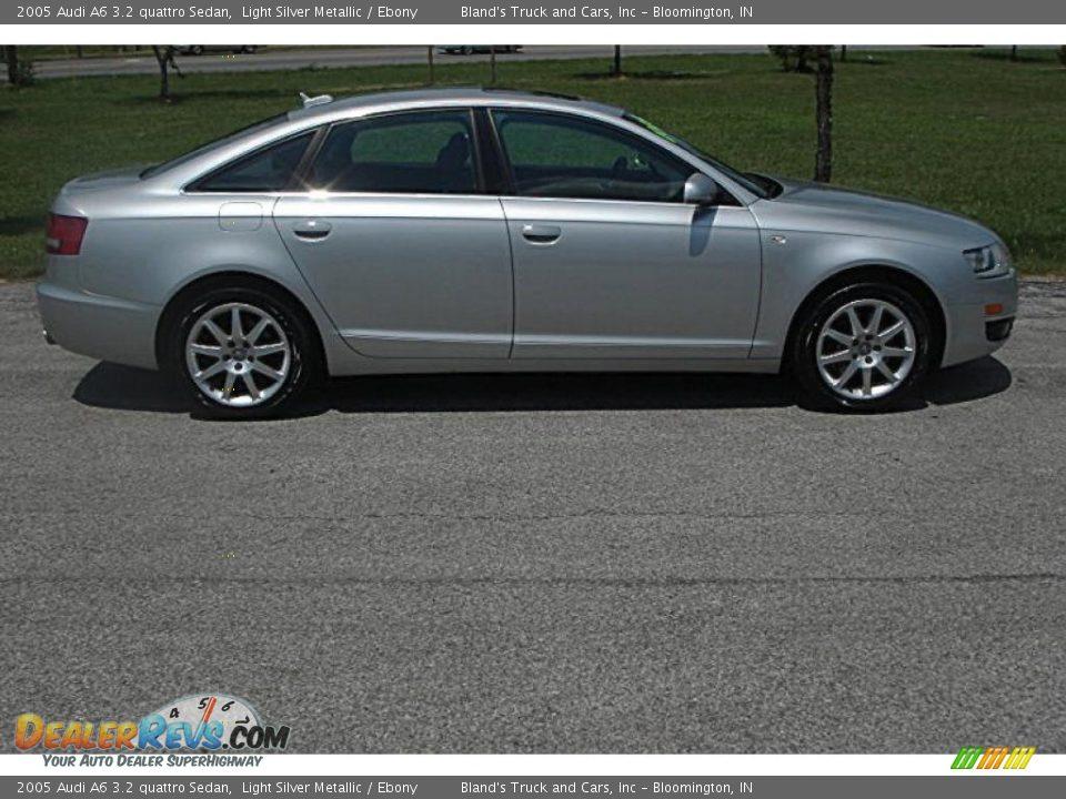 2005 audi a6 3 2 quattro sedan light silver metallic ebony photo 2. Black Bedroom Furniture Sets. Home Design Ideas