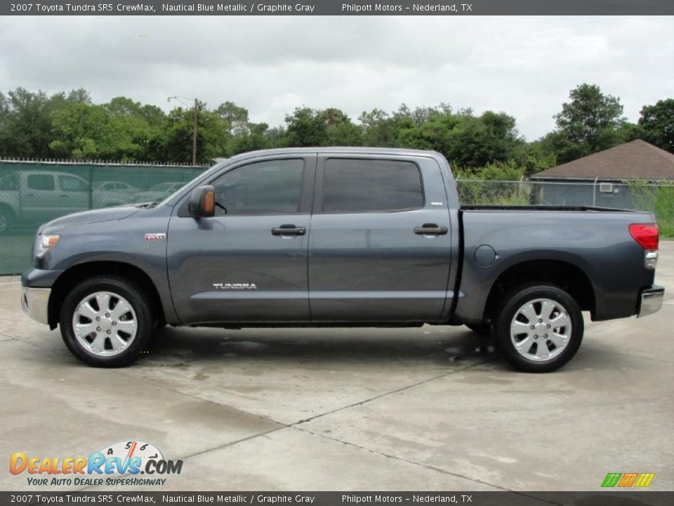 2007 toyota tundra sr5 crewmax nautical blue metallic graphite gray photo 6. Black Bedroom Furniture Sets. Home Design Ideas